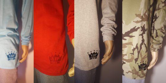 Pánske tričká s dlhým rukávom VIPSK