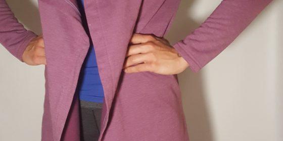 Dámsky predĺžený kabátik VIPSK