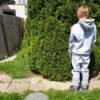 Detská súprava šedá hrubá