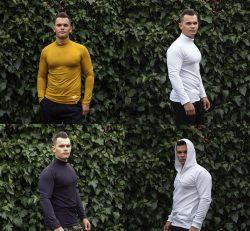 Roláky a tričko s kapucňou VIPSK