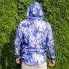 Modrá batikovaná mikina VIPSK