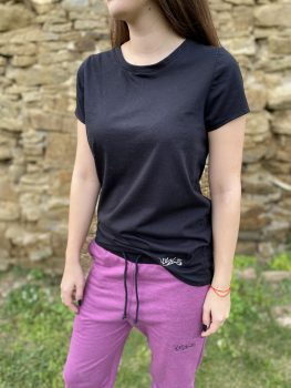 Ženské čierne tričko VIPSK 2020
