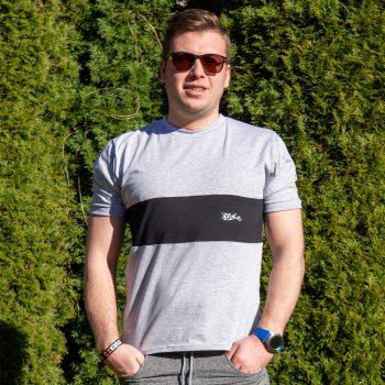 Čierne tričko VIPSK 2021