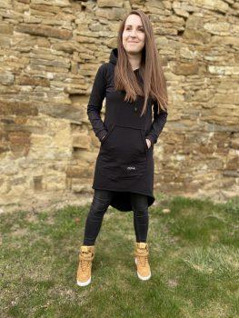 Čierne šaty VIPSK