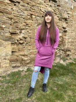 Ženské hrubšie šaty VIPSK